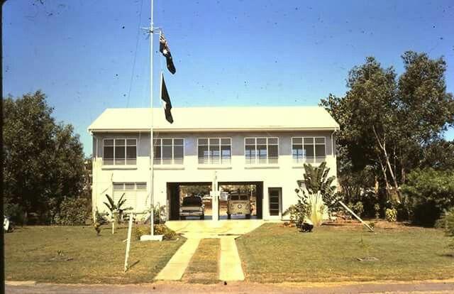 St John's Ambulance Depot , Ross Smith Avenue Darwin NT.