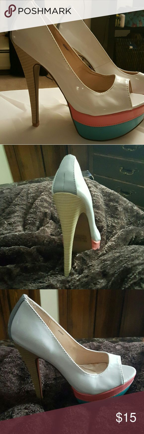 6in stiletto platform wedge Brand new Charlotte rouse Shoes Heels