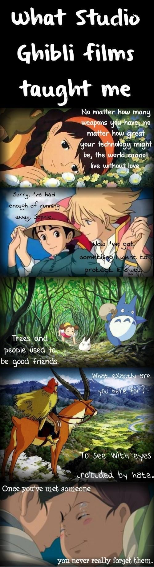 I love that line from Princess Mononoke!!!