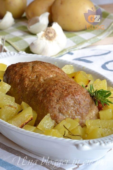 polpettone con patate (2)