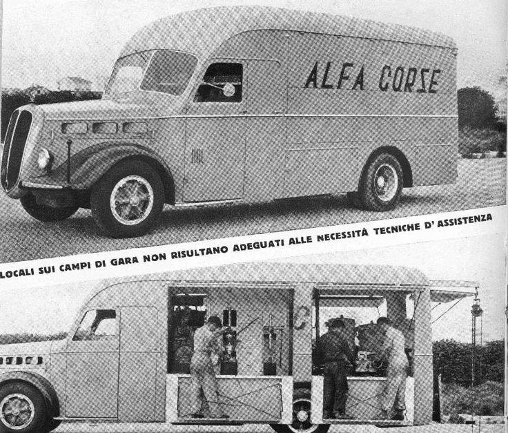 Alfa Romeo - 500 Race Transporter