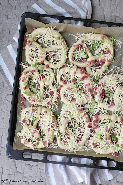 Der Countdown läuft auf … Partyrezepten für jeden Anlass – Pizzabrezel