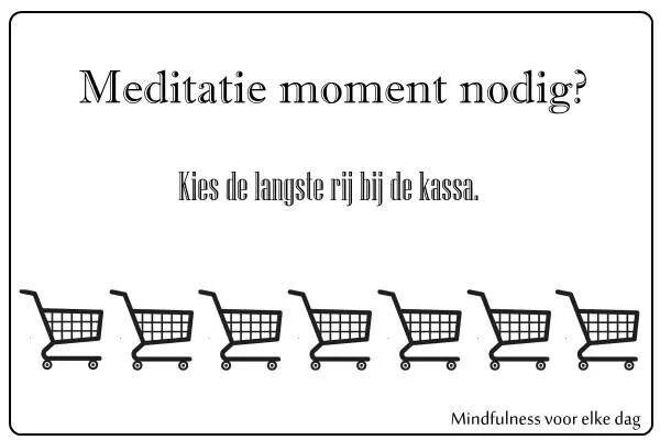 Meditatie momentje nodig?