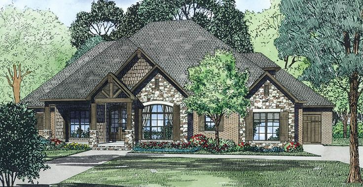 ePlans Craftsman House Plan – Multi-faceted Craftsman – 2340 Square Feet and 3 Bedrooms from ePlans – House Plan Code HWEPL76426