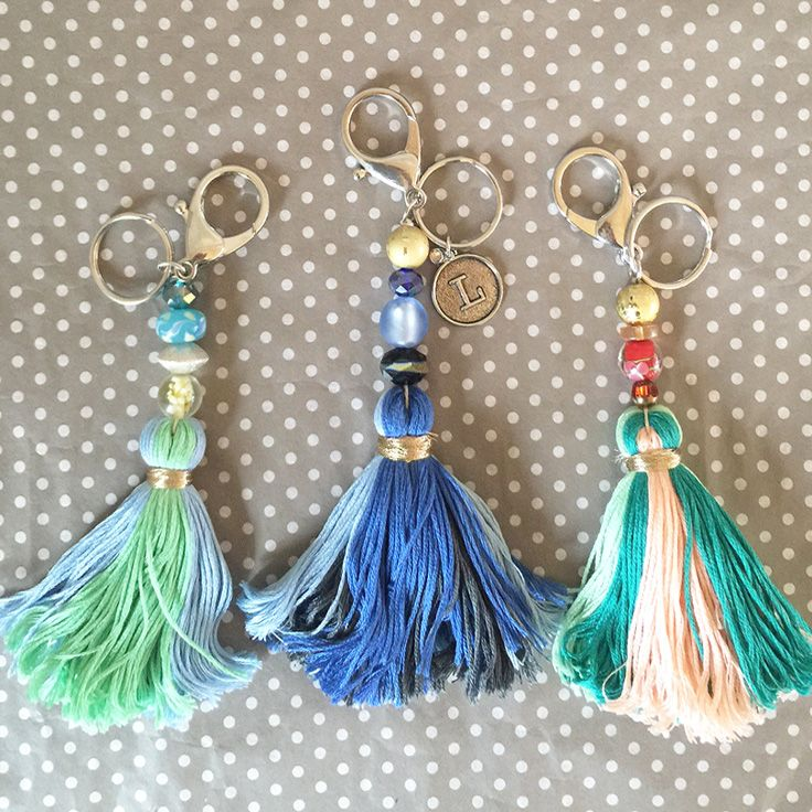 DIY Tassel Keychains Tutorial And Gift Idea Ideas For Mothers DayGreat