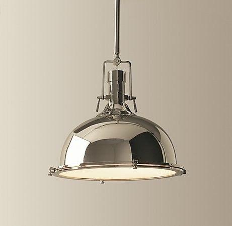 Harmon Pendant - Restoration Hardware traditional pendant lighting