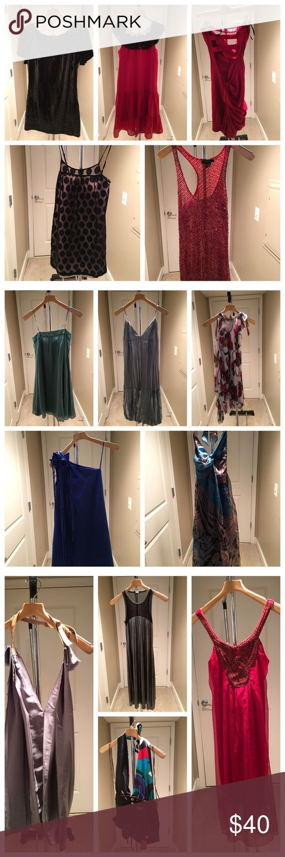 Woman ladies night out Woman night out most of them are brand new and some used. Multiple different brands. BCBG/ Bebe/Sisley and etc. BCBGMaxAzria Dresses