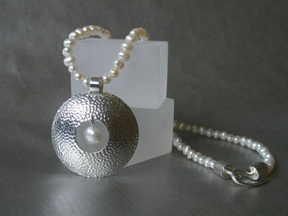 VENUS freshwater pearl sterling silver by SILVERSTONEbyRenata