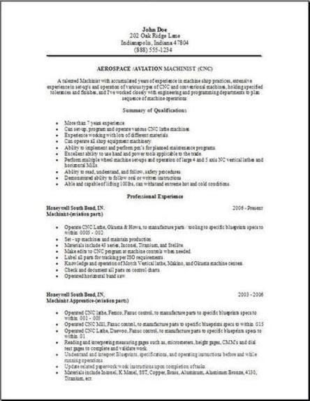 Aerospace Aviation Resume2