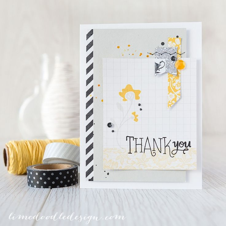 Gorgeous card by Debby Hughes using the March 2015 card kit by Simon Says Stamp.