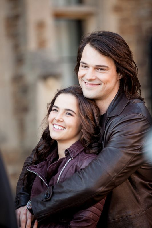 Zoey Deutch and Danila Kozlovsky Vampire Academy BTS