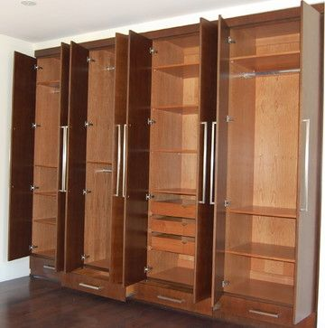 66 Best Built-In Closets Images On Pinterest | Bedroom Closets