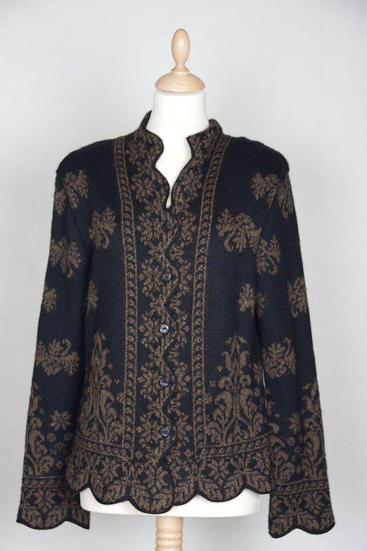 Galeria Araña: Empress short jacket, alpaca wool