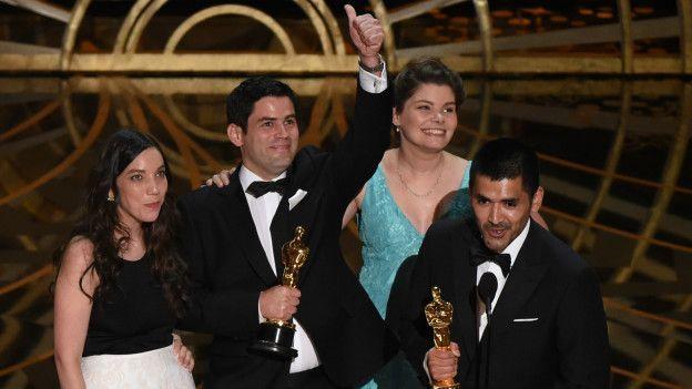 """""""Historia de un oso"""", el corto animado que logró el primer Oscar de la historia para Chile - BBC Mundo"""