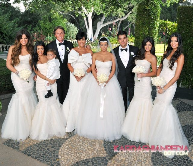 kim kardashian u0026amp kris humphries wedding photos ...