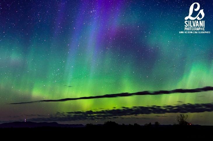 Northern Lights - Saguenay, Quebec, Canada