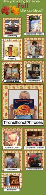 4 Steps to Teaching Transitional Phrases with Pumpkin Jack