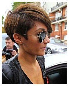 assymetrical pixie cuts | Asymmetrical pixie cut short hair, asymmetrical pixie…