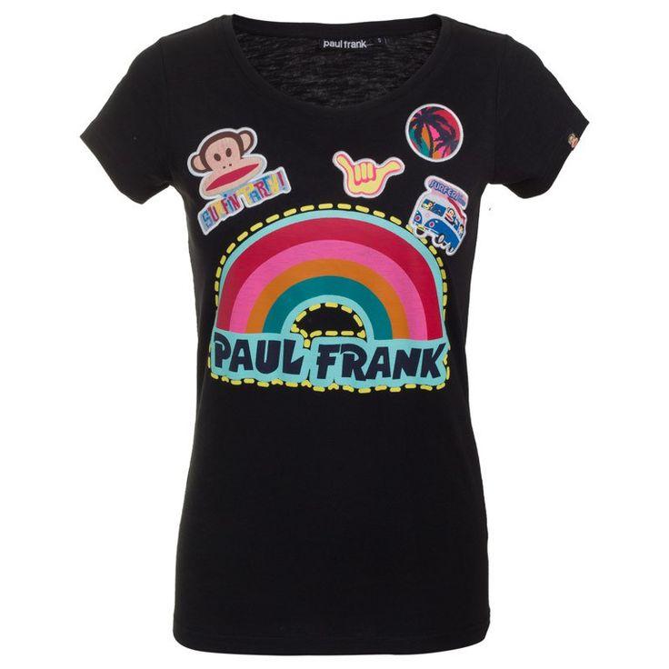 Γυναικεία Μπλούζα T-Shirt Rainbow Party Paul Frank μόνο 7.00€ #onsale #style #fashion