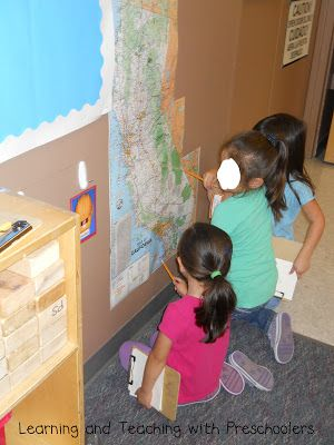 Learning and Teaching With Preschoolers: Maps in the Block Area
