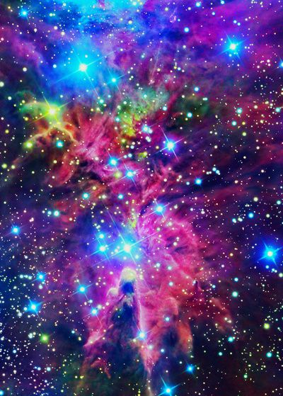 It's amazing to think this exists out there in the universe! Beautiful!!!