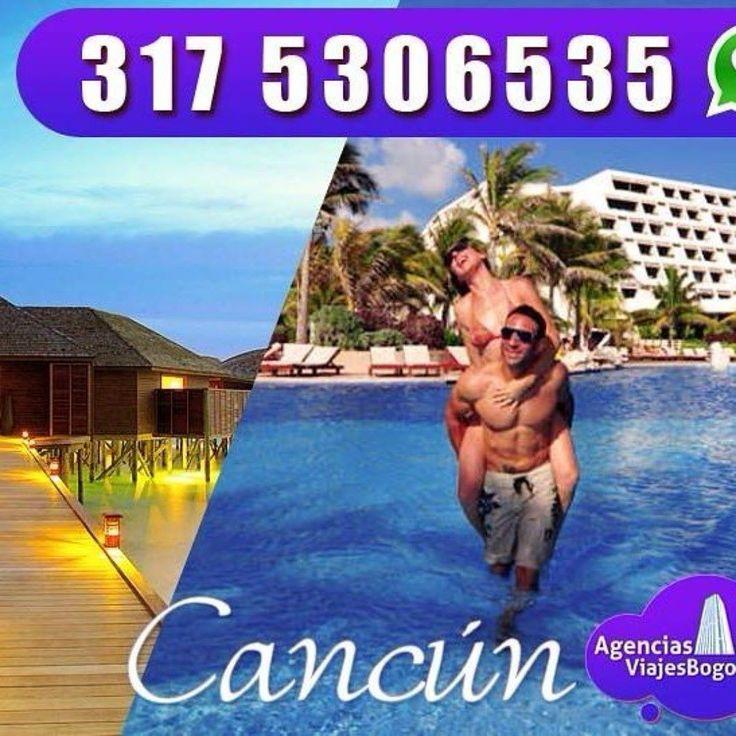 Viajes a Cancún todo incluido desde Bogotá. Te asesoramos vía whatsApp 57 3175306535  http://bit.ly/2l8kKa3  Vive unas vacaciones de locura en este maravilloso destino. #viajar #bogota #planestodoincluido #playa #mar #vacaciones