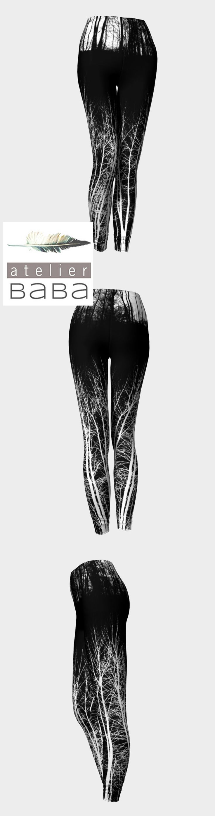 Midnight Forest Leggings by atelierbaba on Art of Where. Also available in Yoga and Capri styles. Lovely.