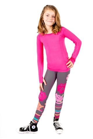 Kids In Yoga Pants
