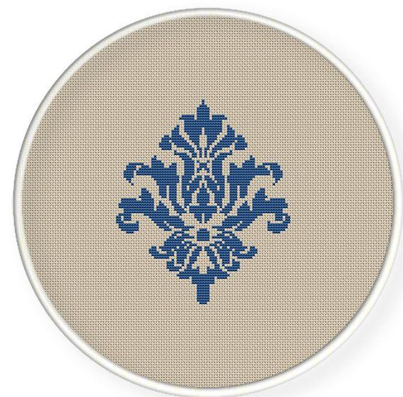 Instant download,free shipping,Cross stitch pattern, PDF,Flower pattern ,ZXXC0166 via Etsy