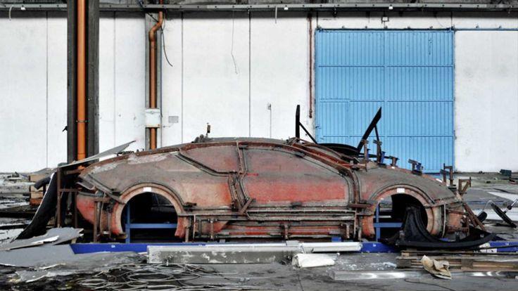 Στο εγκαταλελειμμένο εργοστάσιο της DeTomaso