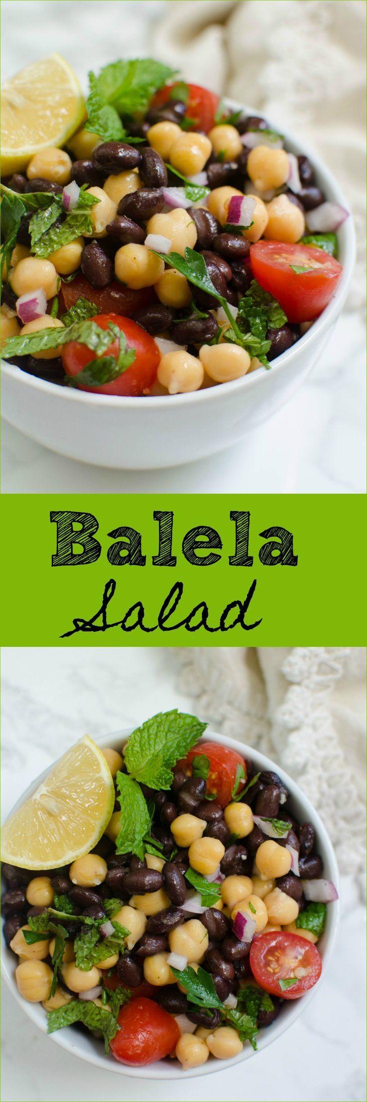 Balela Salad - Trader Joe's copycat recipe! Super simple and so delicious!
