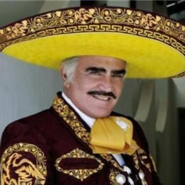 """Vicente """"Chente"""" Fernandez, El mejor cantante de Canciones Rancheras ! Si Señor!!!"""
