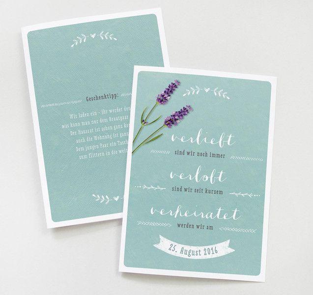 25x Einladung Hochzeit   Türkis. Einladungskarten HochzeitEinladungen  HochzeitLandhausstilFeiernLeuteDawanda ...