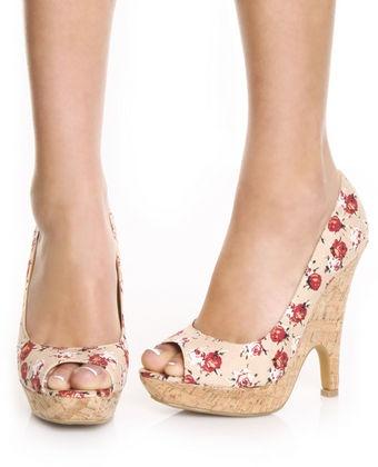 cute pink heel