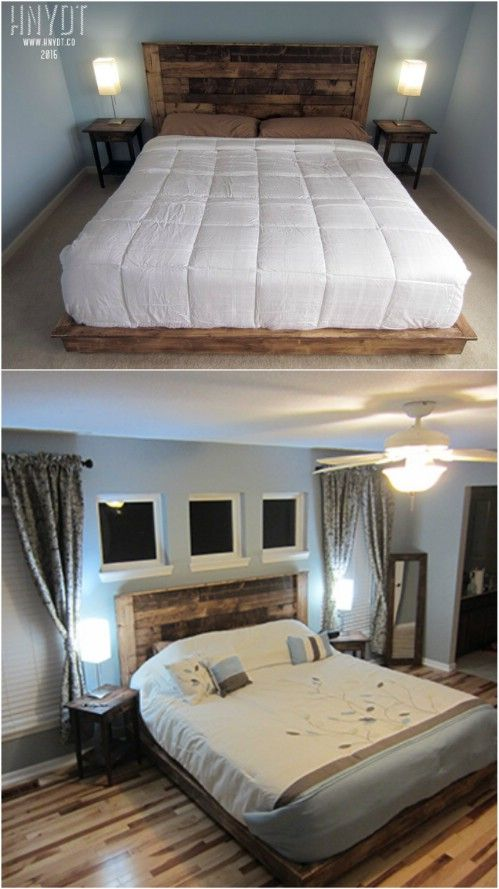 21 Diy Bed Frame Projects Sleep In Style And Comfort Bed Frame Bed Frame Design King Size