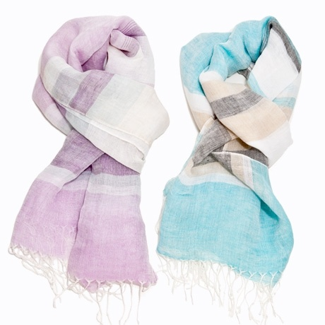 Pastel Dreams Scarves from Poketo. Perfect for my Mom and sister.
