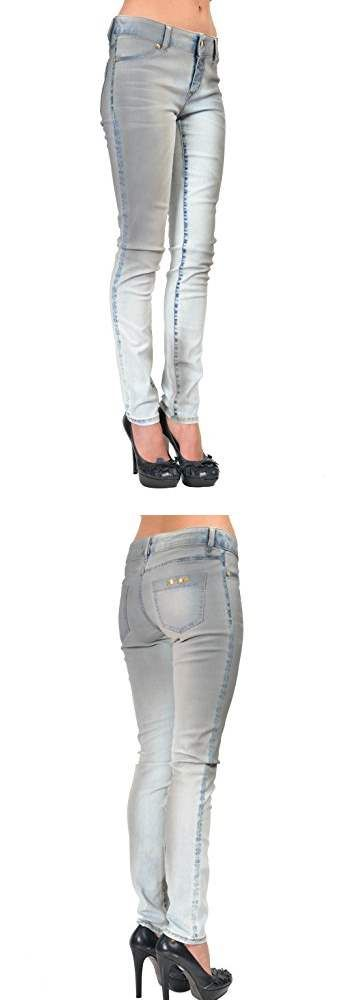 LOOK:  Just Cavalli Chik Multi Color Womens Jeggings Jeans US 4 IT 26