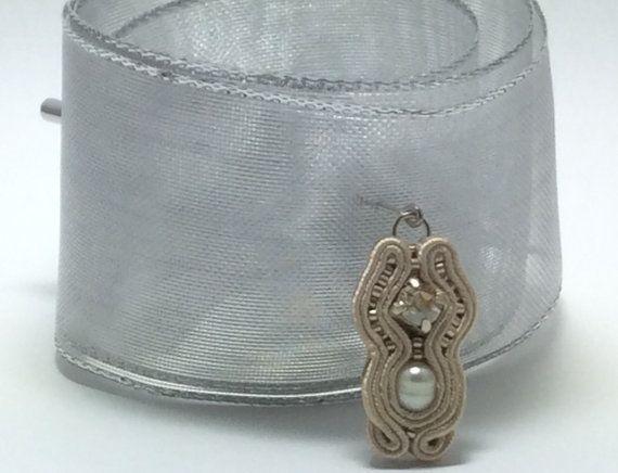 Stylish Hijab soutache pin wedding elegant by AGDesignCreatif