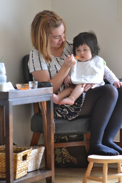 Ditching the High Chair: 5 Tips to Support Laptime Meals with Babies