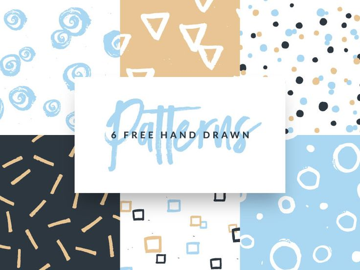 6-free-hand-drawn-patterns-featured