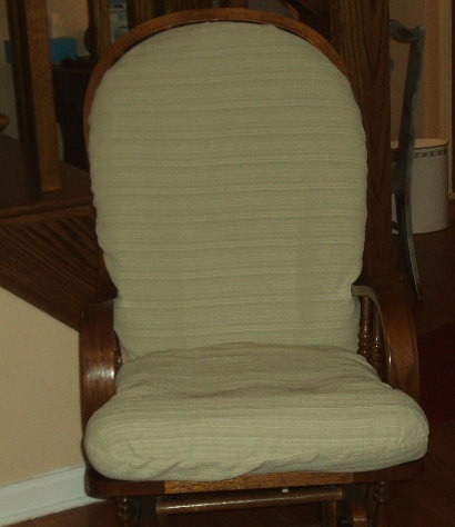 Slipcover For Glider And Ottoman