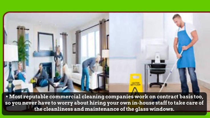 When hiring a commercial window cleaning company, clearly observe the office. If the windows of the office are spotless, you can be assured that the company will do a great job when cleaning your office windows.Log on http://www.constructioncleanup.com/