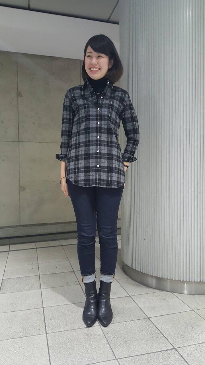 この冬大活躍!起毛チェックビッグシャツ | 渋谷マークシティ店 | メーカーズシャツ鎌倉 公式ショップブログ/Maker's Shirt KAMAKURA