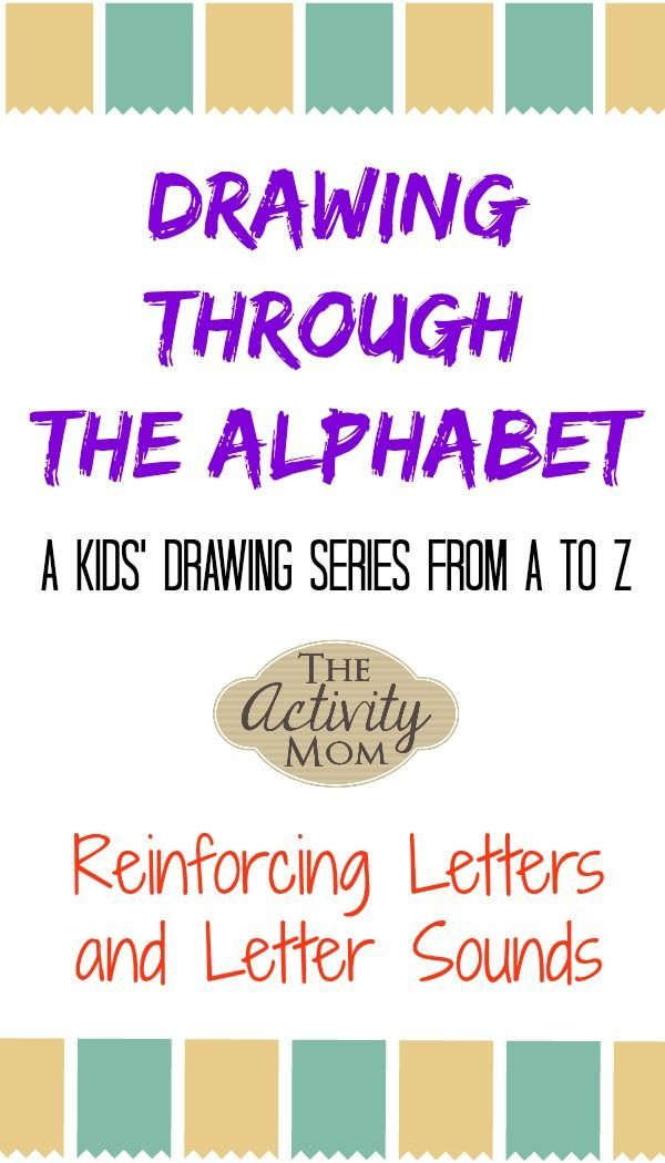 Drawing Through the Alphabet Letter A | Alphabet Learning | Letter ...