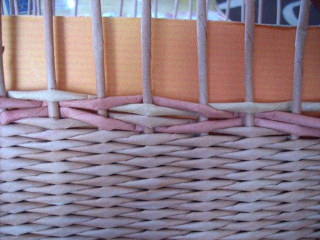 Tutorial - pattern - Moje pletení z papíru - Fotoalbum - NÁVOD - VZORY PLETENÍ - NÁVOD - NA VLNKOVOU VAZBU
