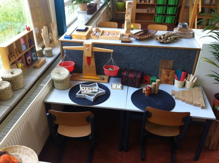 Rekencentrum voor kleuters. Geïnspireerd door Reggio Emilia. Onderzoekende houding stimuleren in het Jenaplanonderwijs