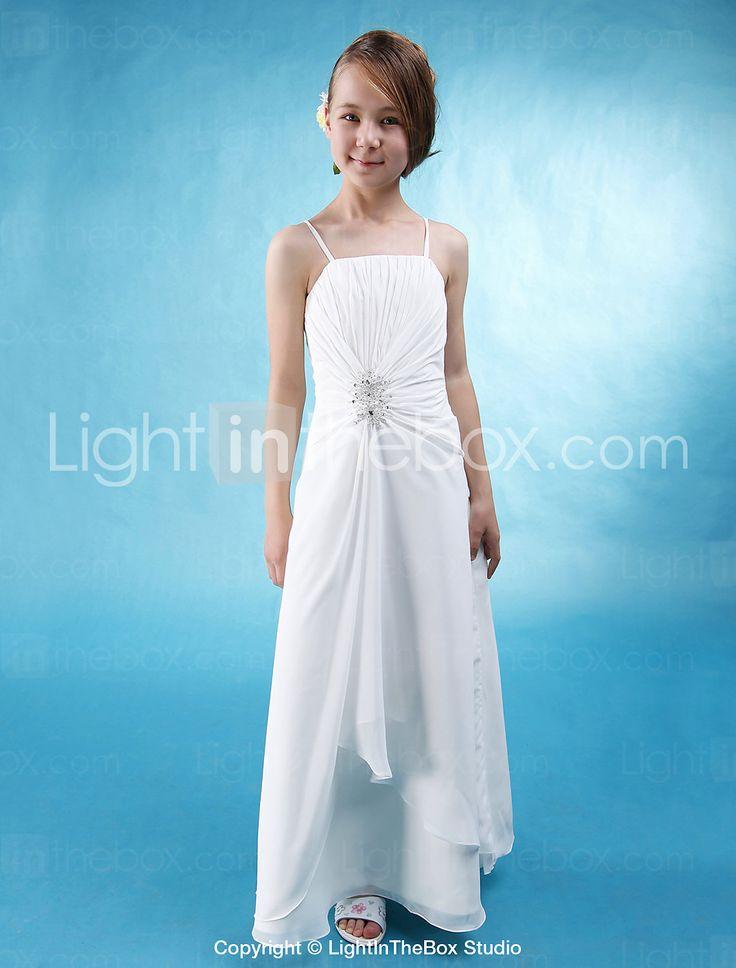 Images of White Long Dresses For Juniors - Reikian