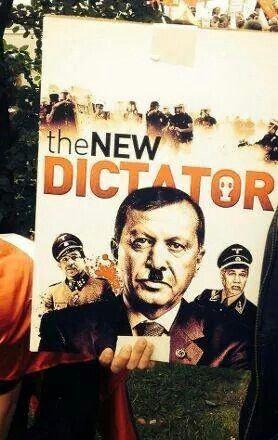 #Almanya #Köln de #Erdoğan'a protesto