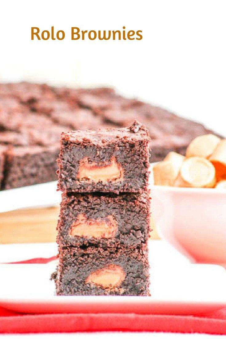 Brownies, Rolo and Desserts on Pinterest