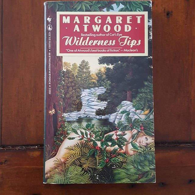 Amazing #canadian author #margaretatwood's book Wilderness Tips is in our shop for $5 CAD!  Visit us at http://www.theclearlyilliteratebookshop.tictail.com and use code GRANDO when you spend $5+! #wildernesstips #canadianauthor